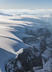 Glacial recession of Columbia Icefield